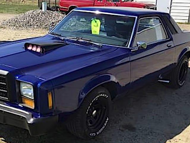 За 2600 доларів цей 1978 Ford Granada Hot Rod - це, мабуть, доказ смерті