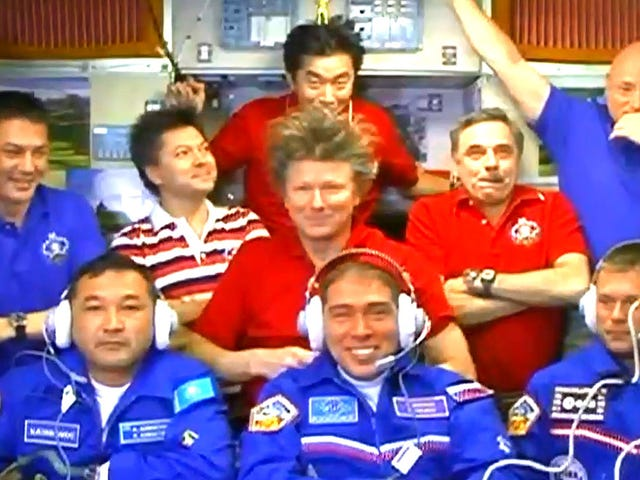 Nine Is Enough On The International Space Station