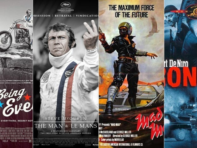 See McQueen, De Niro, Knievel, Mad Max: $50 VIP Tickets Still Available