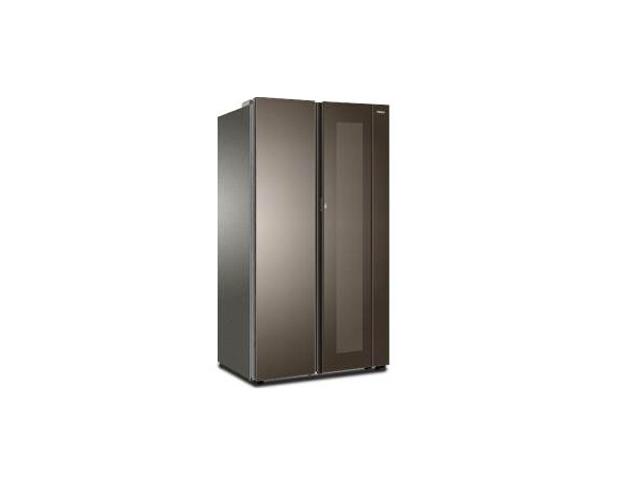 Dette futuristiske gennemgående køleskab går endelig til at være en rigtig ting