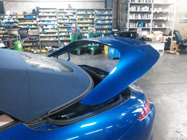 Νέος σχεδιασμός πτέρυγας Porsche