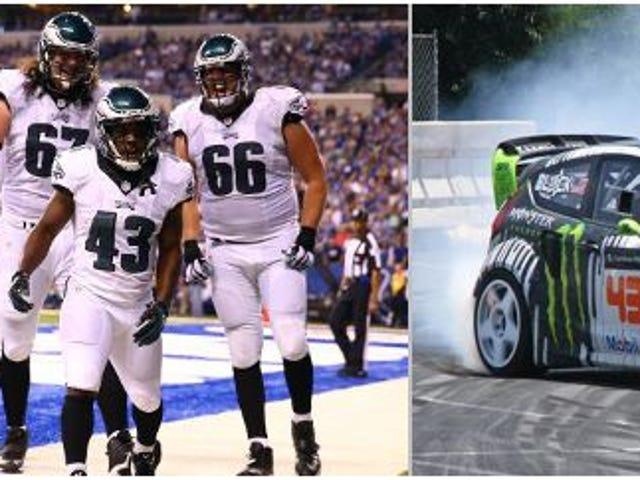 Mikä auto on NFL-pelaaja?  NFC East -versio