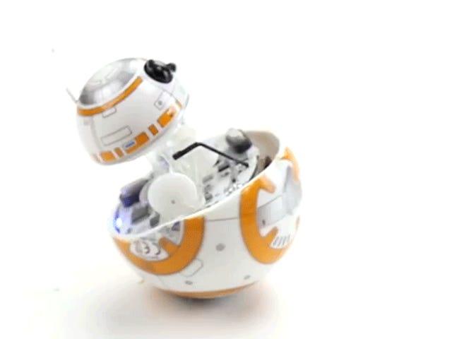 黑客打开Sphero的BB-8看看它如何在里面工作