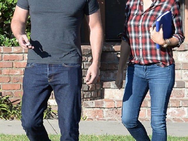 Ben Affleck and Jennifer Garner Smiled at Each Other