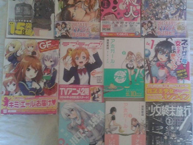 My thoughts on Manga / Light Novels i read in August