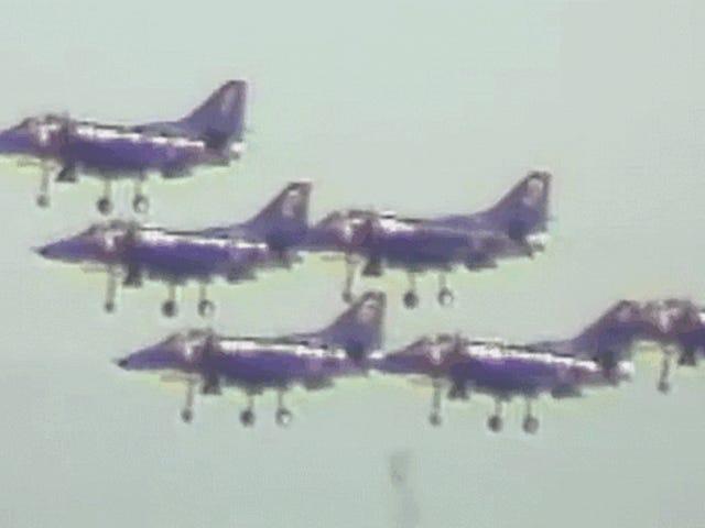 Dieses Video ist eine sinfonische Fahrt durch die Geschichte der Jets von Blue Angels