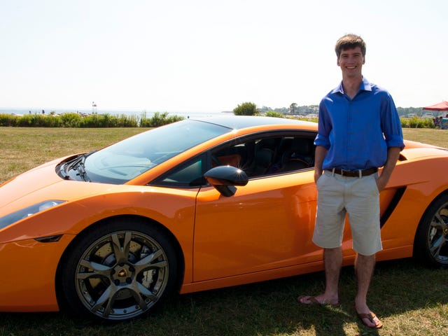 Got to drive a Gallardo a few weeks ago around the Seacoast