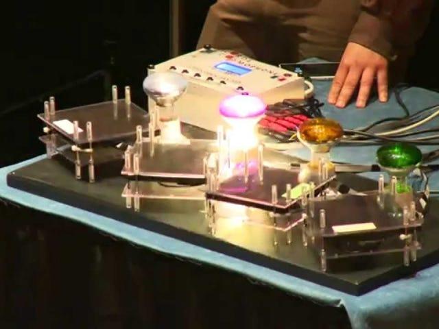 """CERNs """"Cosmic Piano"""" gör musik av rå partikeldata"""