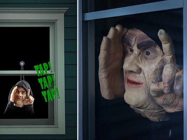 Mengeriakkan Jiran Tetangga Anda Dengan Jendela Ini Menoreh Peeping Tom Prank