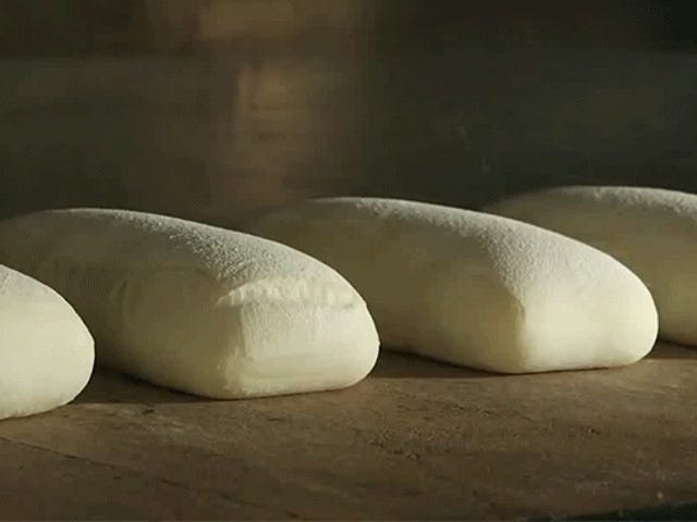 Watching baking bread rise is almost pornographic