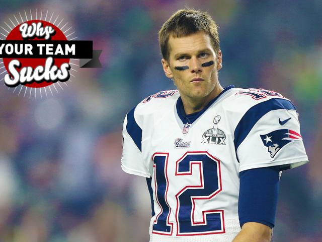 Por qué tu equipo apesta 2015: New England Patriots