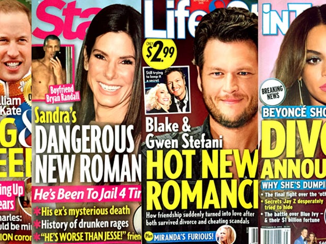 This Week In Tabloids: Trust Me, Beyoncé and Jay Z Are Definitely Splitting Up