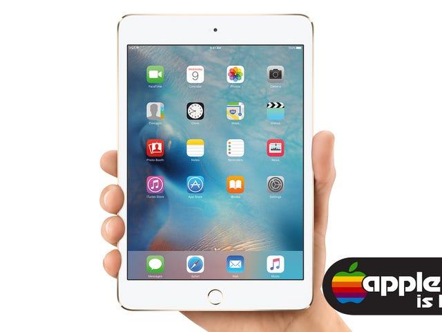 A Apple lança silenciosamente o novo iPad Mini 4 e atualiza os preços do iPad