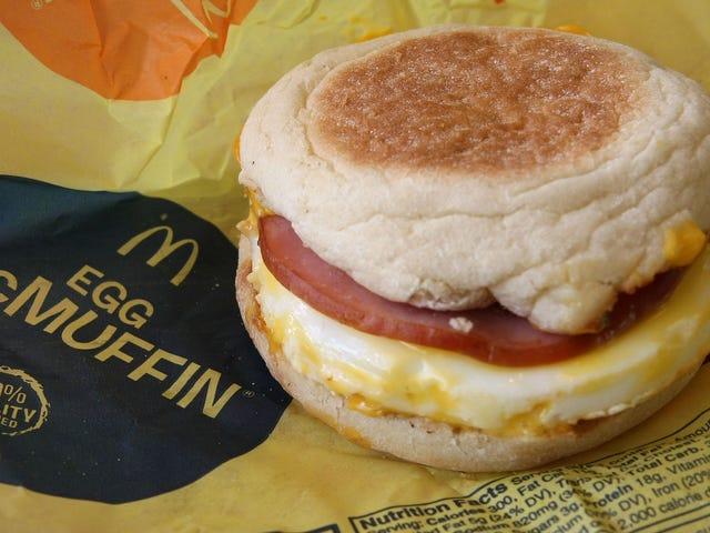 मैकडॉनल्ड्स ने यूएस लास्ट ईयर में 4 प्रतिशत से अधिक अंडे खरीदे