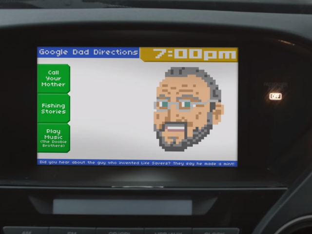 How Google's Directions Would Work If They Were Coded By Your Dad