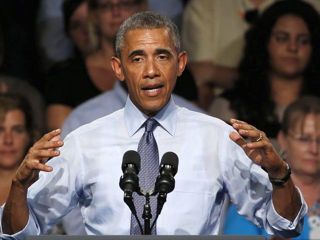 पिताजी राष्ट्रपति ओबामा 'फ्रीक आउट आउट' से मालिया गोइंग टू कॉलेज