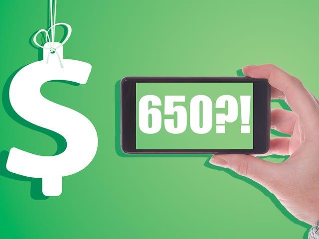 नहीं, आपका iPhone कभी $ 200 ही था