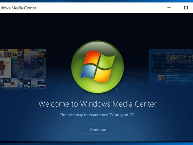 Get Windows Media Center Running on Windows 10 in a Few Easy Steps