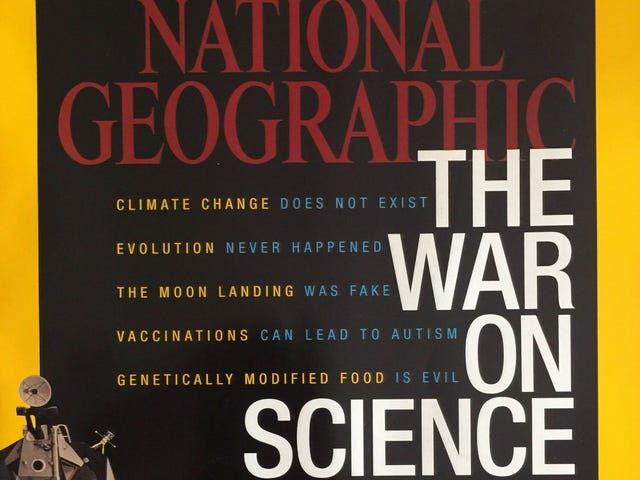 National Geographic Is Now Owned by a Climate Change Denier