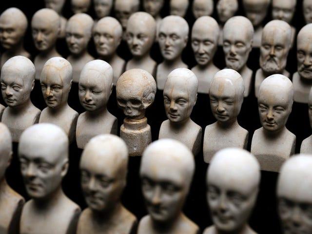 Creepy Relics of Phrenology, the Pseudoscience of Reading Head Bumps