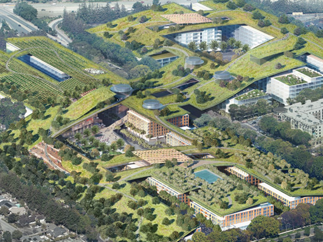 Cupertino May Replace Its Dead Mall With the Biggest Green Roof Ever Built