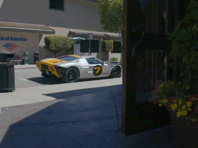 Menimme etsimään hienoja autoja ja löydettiin Ford GT: n suunnittelija