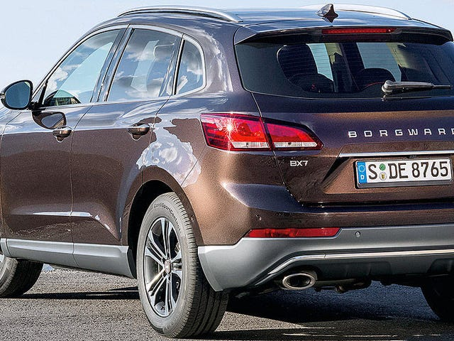 Первый автомобиль с бортовым приводом от Borgward - это Audi Knockoff