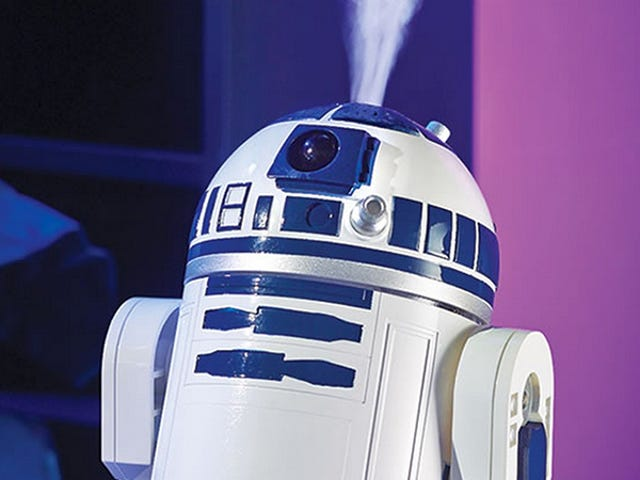 This R2-D2 Is Either Really Angry or an Adorable Humidifier
