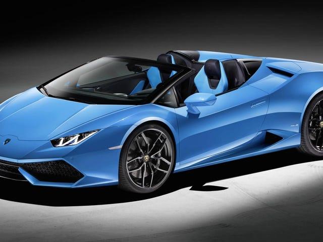 Lamborghini Huracan LP 610-4 Spyder: Das ist es