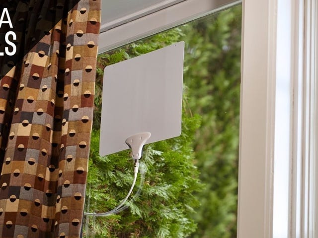 Cut The Cord With This Popular HDTV Antenna. Just $38, Today Only.