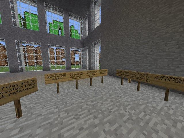 Minecrafters bygget de bedst tænkelige hjem ud af en simpel blok