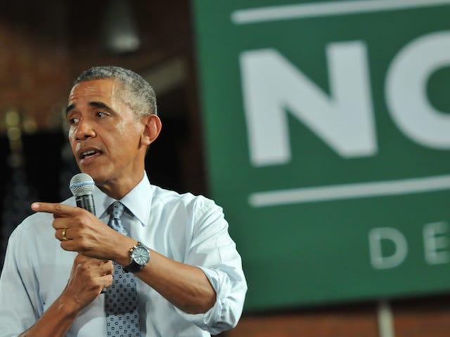 """Obama n'est pas cool avec des étudiants de collège libéraux """"codés"""""""