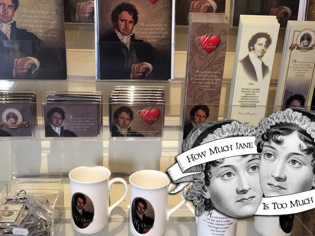 Tea Cozies, Tote Bags and Colin Firth: The Thriving Jane Austen Souvenir Economy
