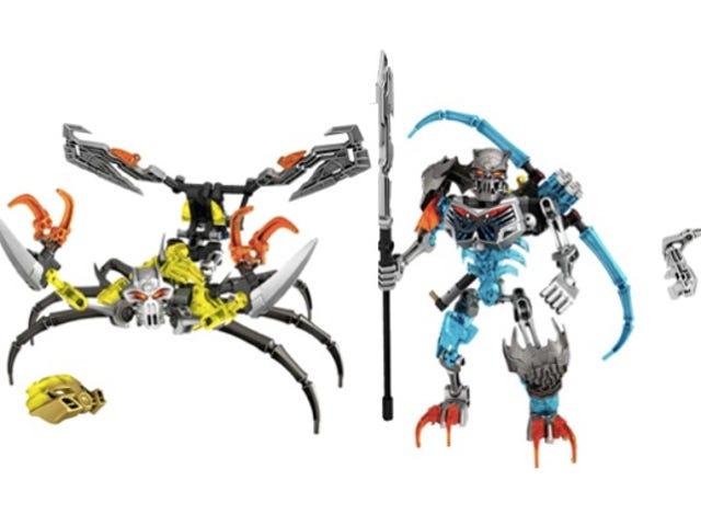 समीक्षा करें: नई लेगो बीओनिकल समूह स्लाइस और बैश खोपड़ी के लिए यहां हैं