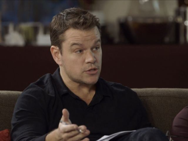 Matt Damon Responds to Criticism, Commends Himself for Starting a Diversity Convo