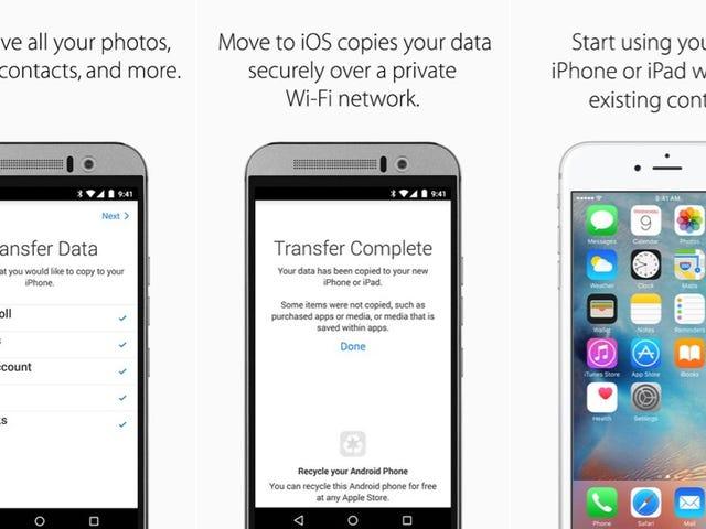 Apple ha lanzado Move to iOS, una aplicación para migrar de Android a iPhone sin perder tus datos