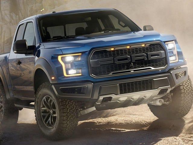 <i>Forza 6</i> tiene especificaciones de potencia y peso para el Ford Raptor 2017