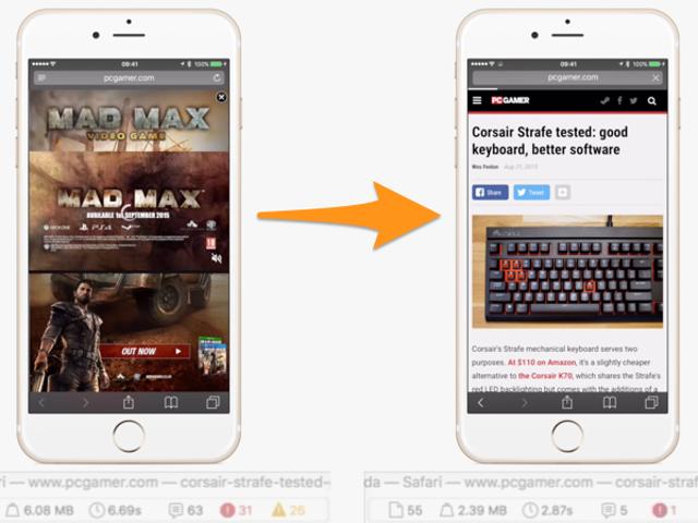เมื่อวันพุธที่แล้วสำหรับ Safari และ iOS 9