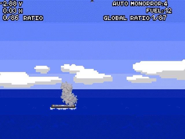 Yritä Landing SpaceX Falcon 9 itseäsi tämän Flash-pelin (se on mahdotonta)