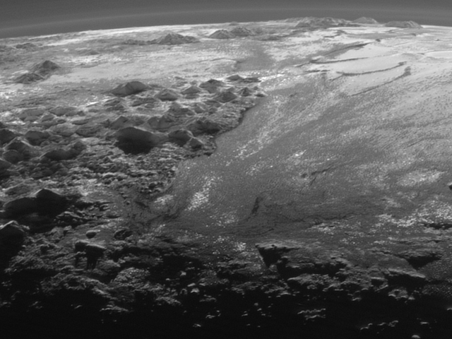 Here's What Sunset Looks Like On Pluto