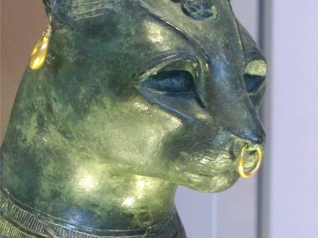Chats égyptiens antiques