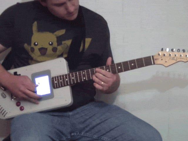 Gioca a Pokémon mentre distruggi i riff caldi con questa combinazione di chitarra elettrica e Game Boy