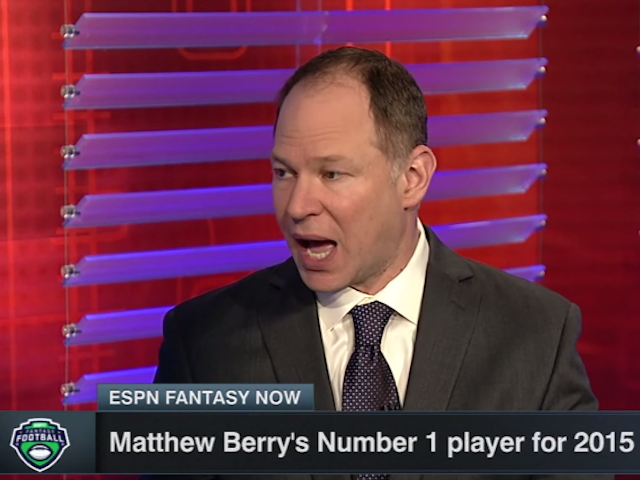 ESPN's Matthew Berry Sells Credibility To DraftKings