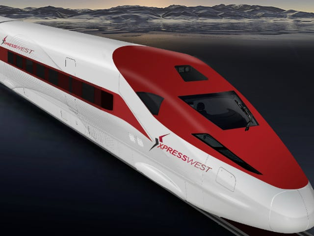 The US and China Just Made a Deal To Build High-Speed Rail Between LA and Vegas