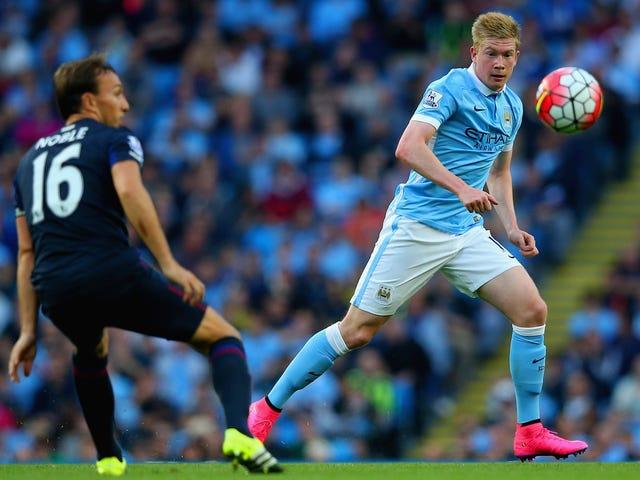 Manchester City Drop primeiros pontos da temporada