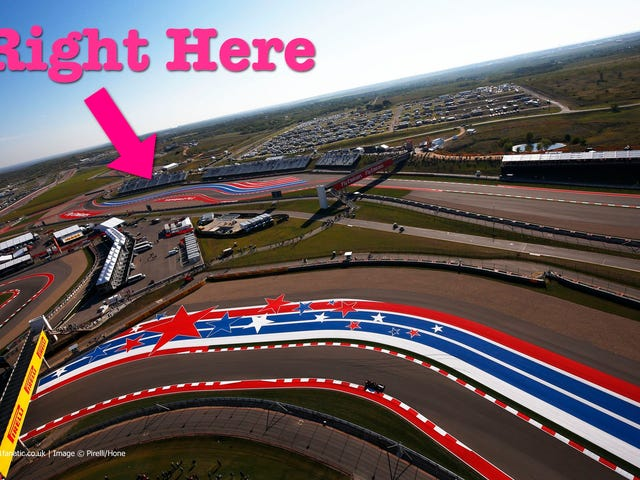 Я иду на гонку Формулы 1 в CotA!