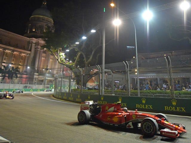 Singapore Grand Prix var flott for Ferrari og ganske mye ingen andre