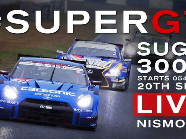 No, You Can't Be Done Watching Racing - Super GT Is On