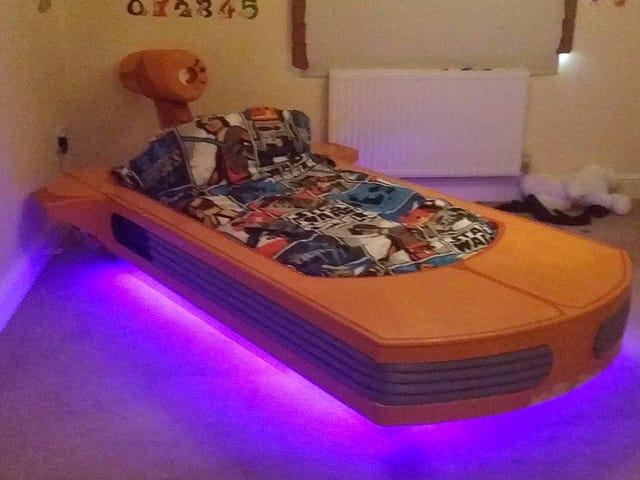 Напишіть на це чудове ліжко Landspeeder весь шлях до станції Tosche