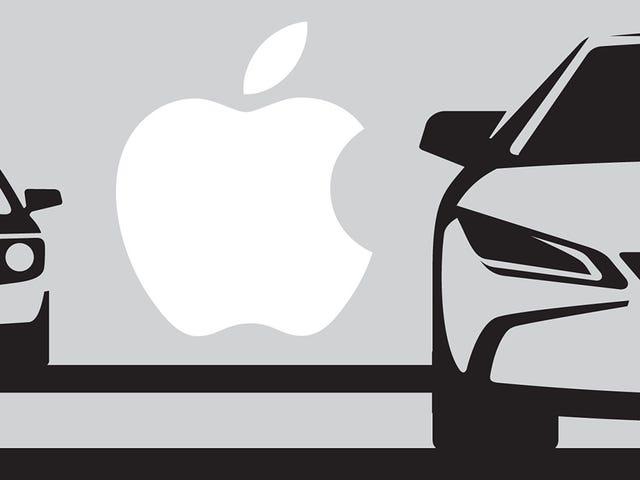 Apple quiere tener listo su propio auto da 2019